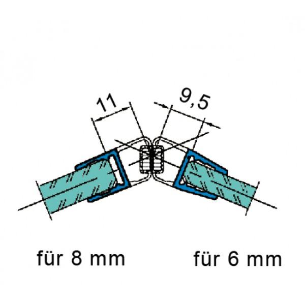 Магнитный уплотнитель 135°
