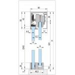Монтажный комплект для стекла Bohle MasterTrack® ST